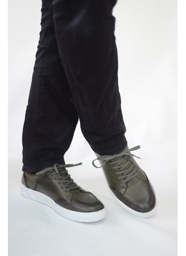 La scada Yeşıl Erkek Casual Ayakkabı Tp1401 Yeşil